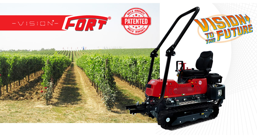 Agricultural multifunctional reversible machinery