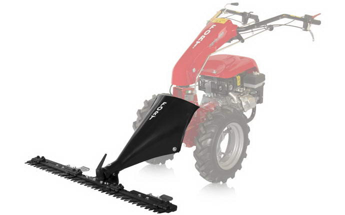 Motormower 280 Serie Fort, various types of mowing bar.